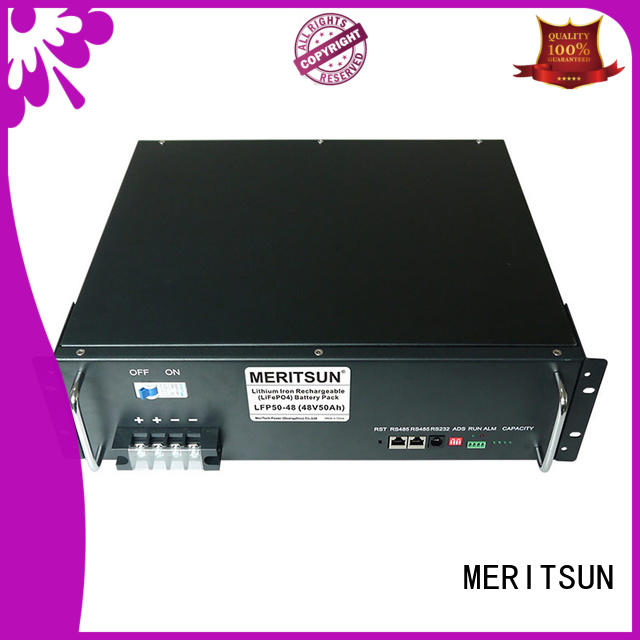 MERITSUN easy to install commercial energy storage systems supplier for base transceiver station