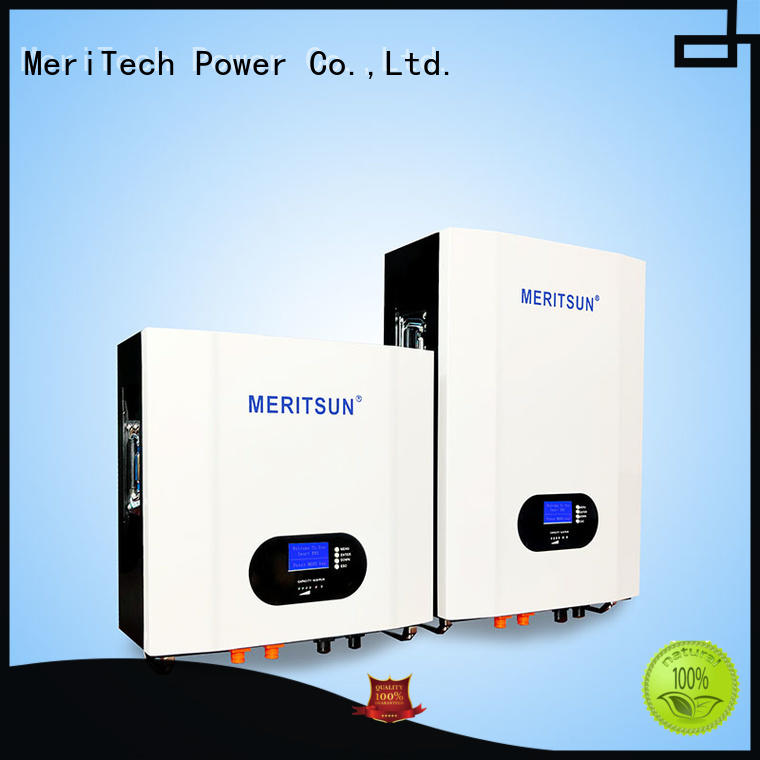 MERITSUN Powerwall (Hybrid Grid ESS) manufacturing for home