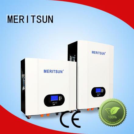 MERITSUN Powerwall (Hybrid Grid ESS) manufacturing for home