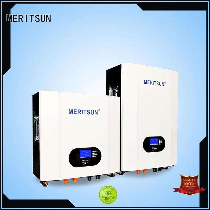 MERITSUN safe design home battery system manufacturing Tesla