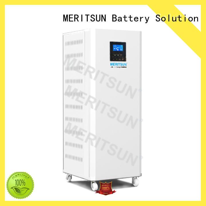 MERITSUN energy saving house power battery series for house