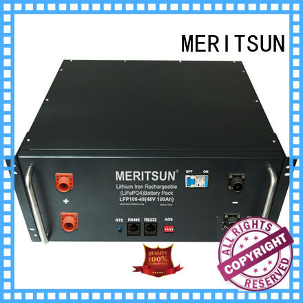 MERITSUN commercial energy storage systems factory direct supply for base transceiver station