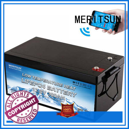 MERITSUN lithium battery low temperature manufacturers for streetlight
