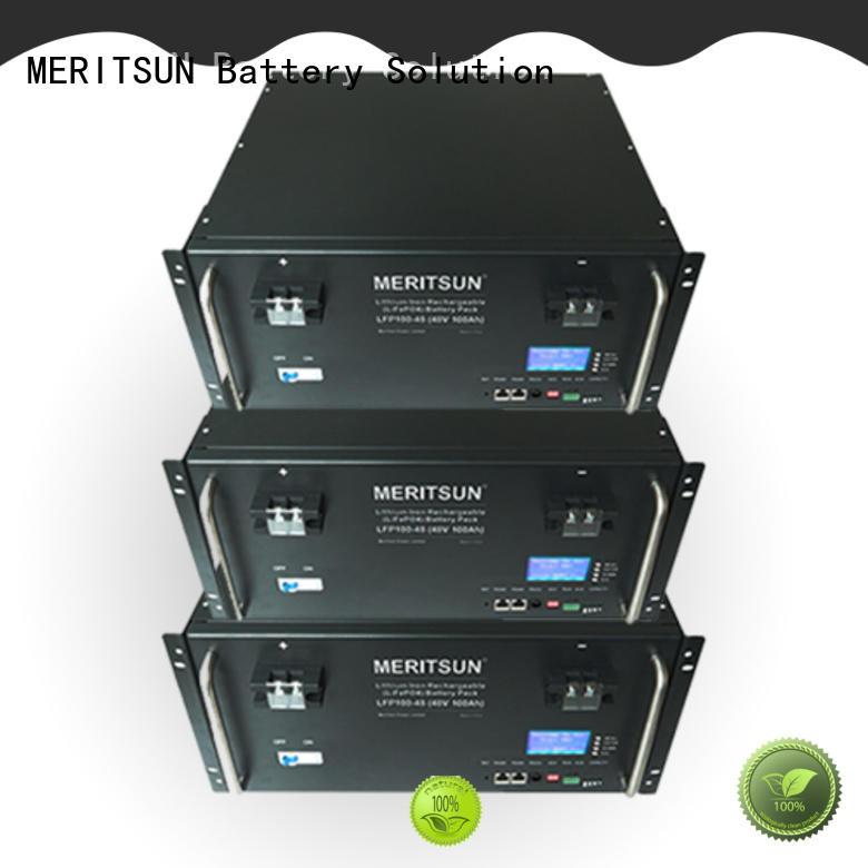 MERITSUN solar ess energy storage system customized for base transceiver station