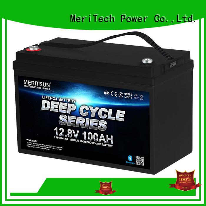 MERITSUN phosphate 24v lifepo4 battery supplier for house