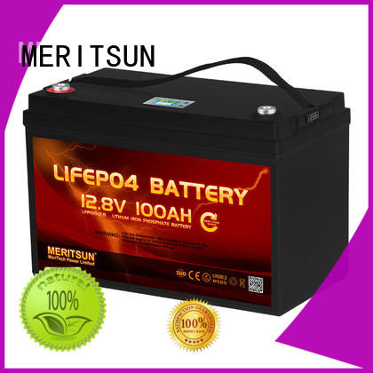 MERITSUN best lithium battery supplier for building
