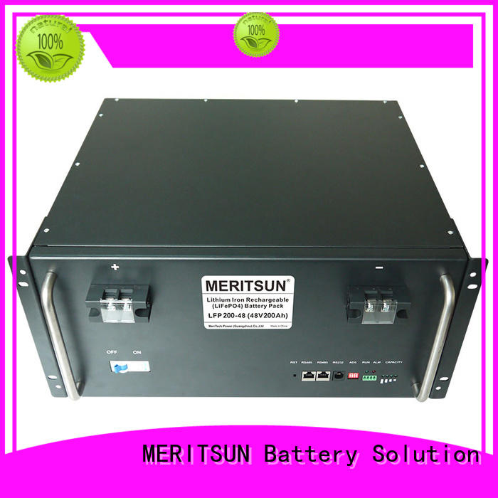 MERITSUN reliable residential energy storage systems factory direct supply for base transceiver station
