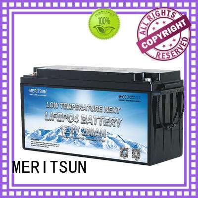 MERITSUN low temperature lithium ion battery manufacturers for electric motorcycle