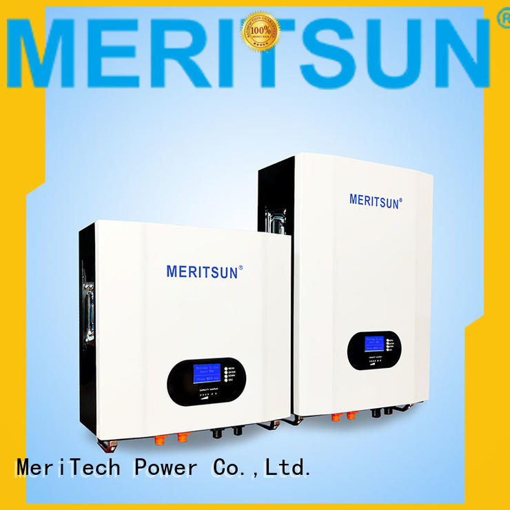 MERITSUN cost-effective Powerwall (Hybrid Grid ESS) supplier for home