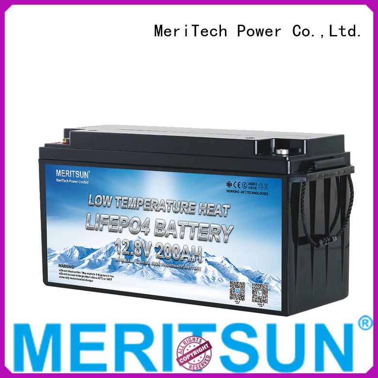 MERITSUN low temperature lithium battery factory for robot