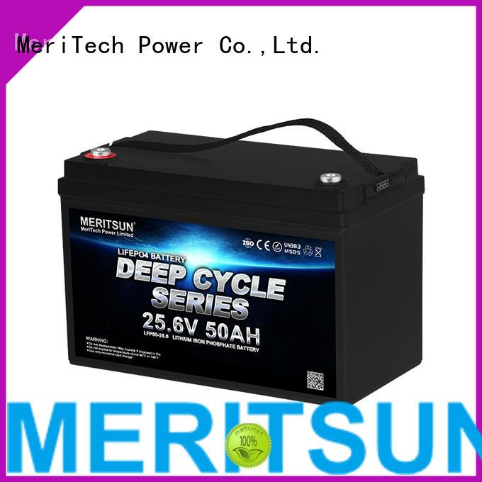 MERITSUN high power lifepo4 battery 48v series for home use