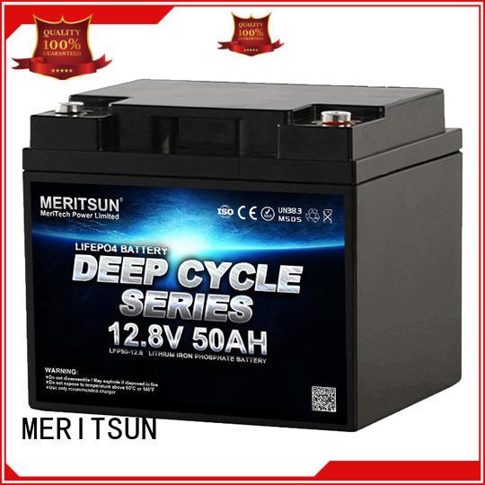 MERITSUN lithium battery price supplier for house