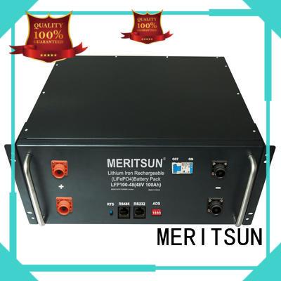 MERITSUN telecom battery power storage supplier for residential