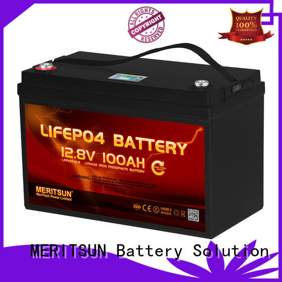 MERITSUN lightweight 24v lifepo4 battery wholesale for house