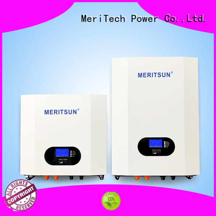 MERITSUN safe design home battery pack for home