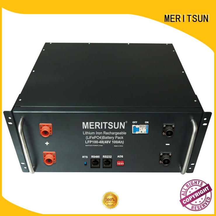 MERITSUN battery power storage factory direct supply for commercial