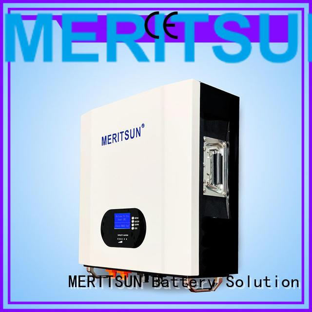 MERITSUN app management powerwall cost OEM for home