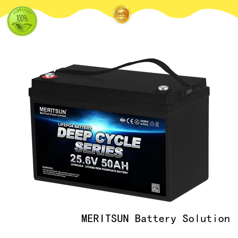 MERITSUN rechargeable lithium batteries for sale supplier for villa