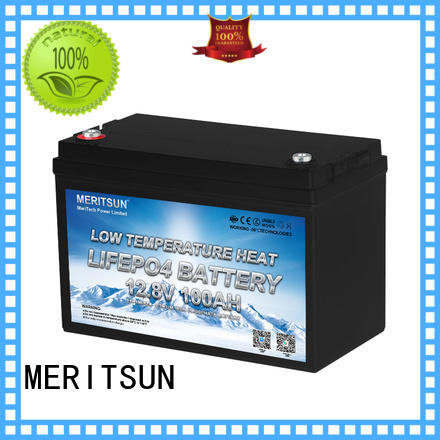 MERITSUN low temperature lithium battery supply for house