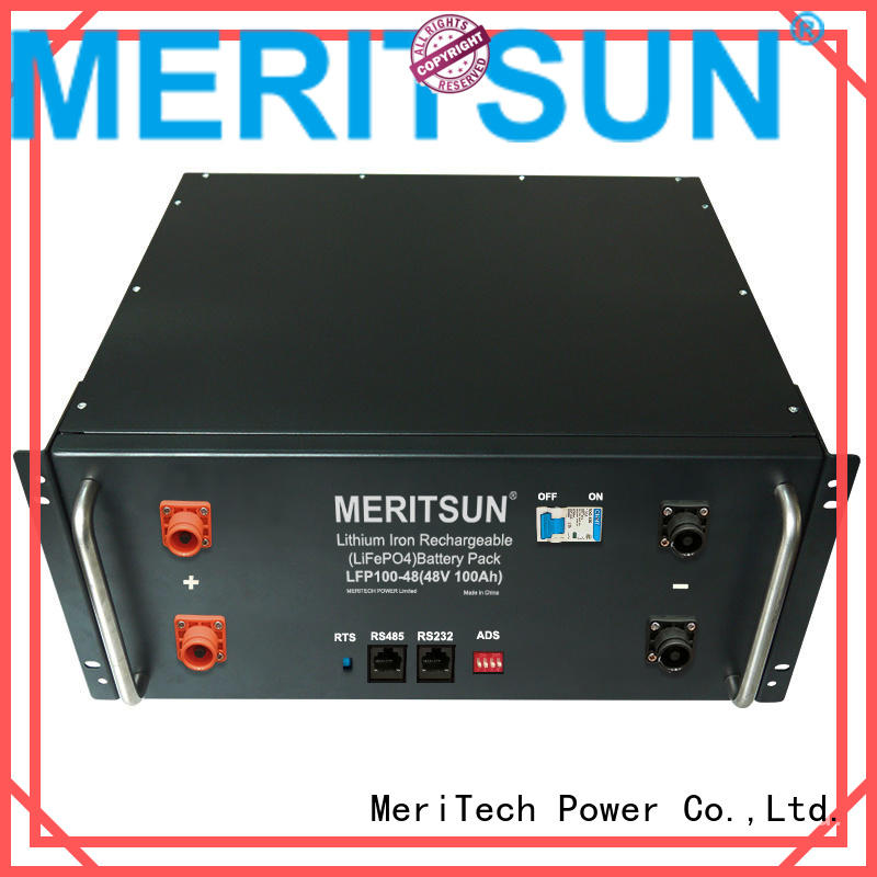 MERITSUN electrical energy storage systems manufacturing for commercial