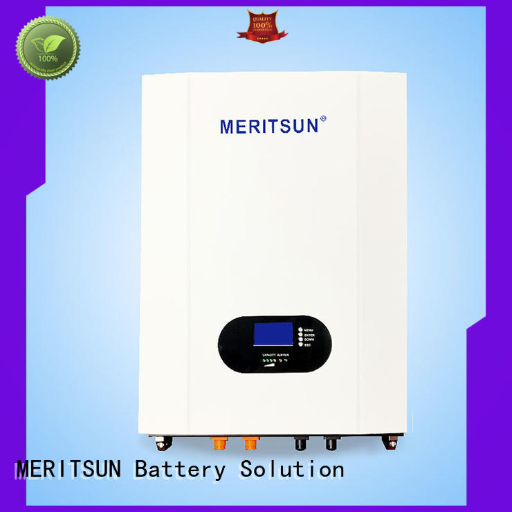 MERITSUN long cycle life house battery backup for energy storage