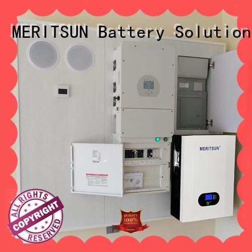 MERITSUN Hybrid inverter Powerwall (Hybrid Grid ESS) factory direct supply Tesla