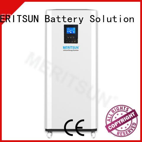 MERITSUN durable house power battery supplier for house