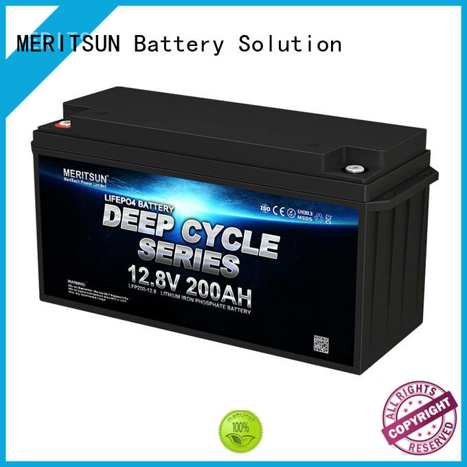 MERITSUN lithium iron phosphate battery series for villa