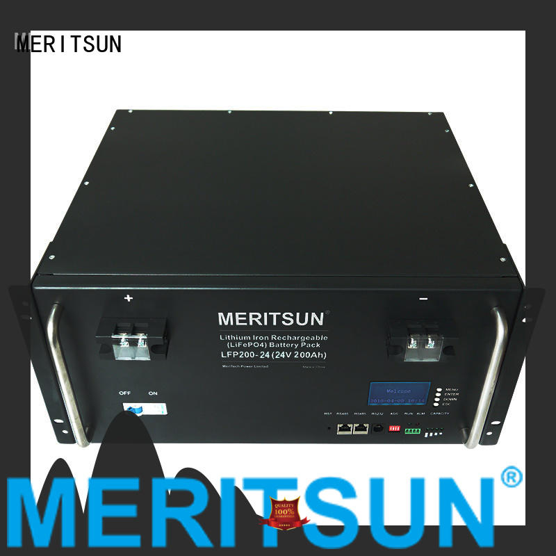 MERITSUN battery energy storage system factory direct supply for base transceiver station