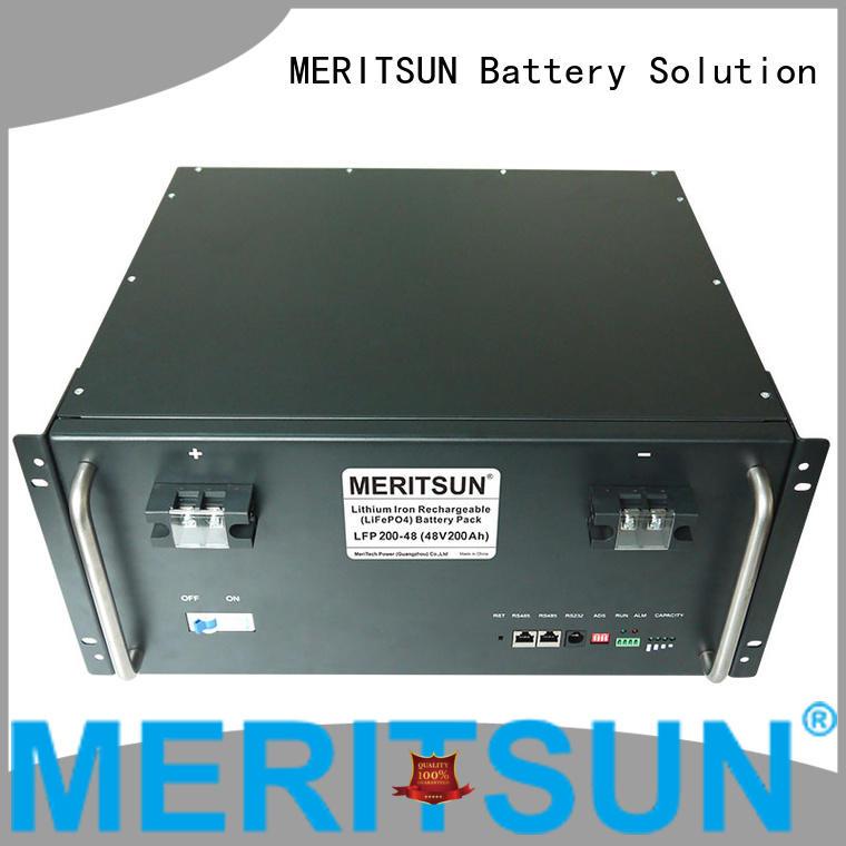 MERITSUN solar battery energy storage system supplier for commercial