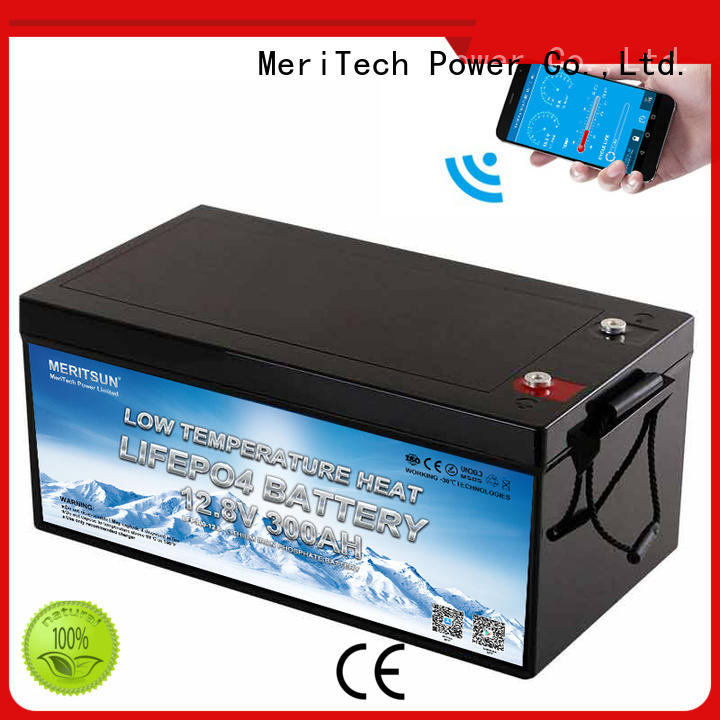 MERITSUN best low temperature lithium ion battery for business for streetlight