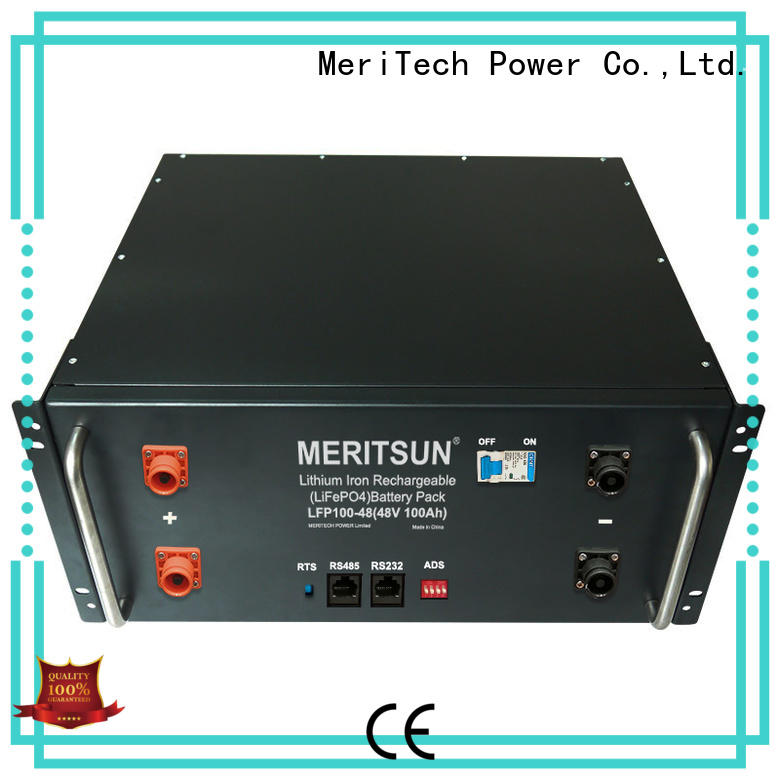 MERITSUN residential energy storage systems customized for commercial