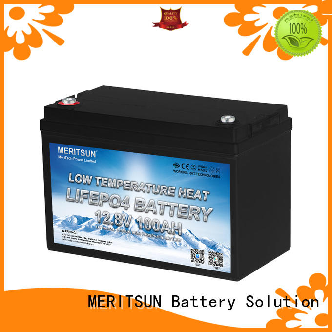 MERITSUN best low temperature lithium battery suppliers for streetlight