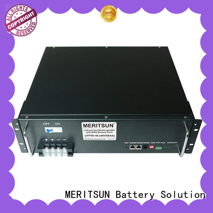 MERITSUN electrical energy storage systems manufacturing for base transceiver station