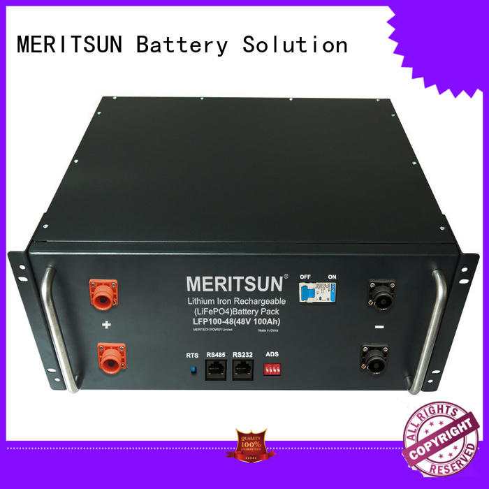 MERITSUN durable electrical energy storage systems manufacturing for residential