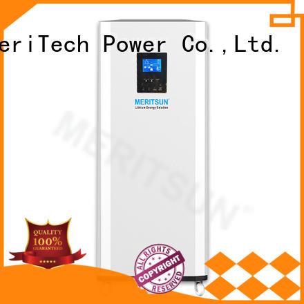 MERITSUN rechargeable house power battery supplier for family