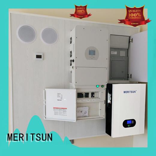 MERITSUN home battery system OEM for buildings