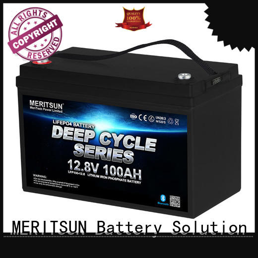 MERITSUN rechargeable lifepo4 battery pack wholesale for house
