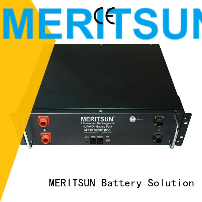 MERITSUN storage battery factory direct supply for residential
