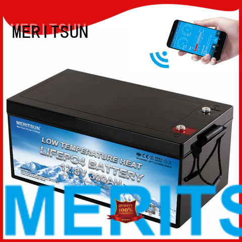 MERITSUN best lithium battery low temperature company for house