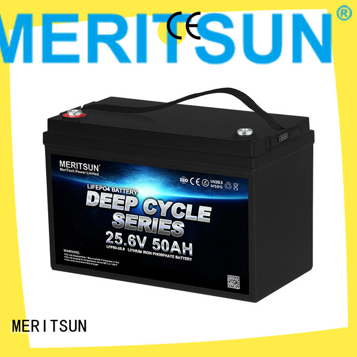 MERITSUN lithium iron battery series for home use