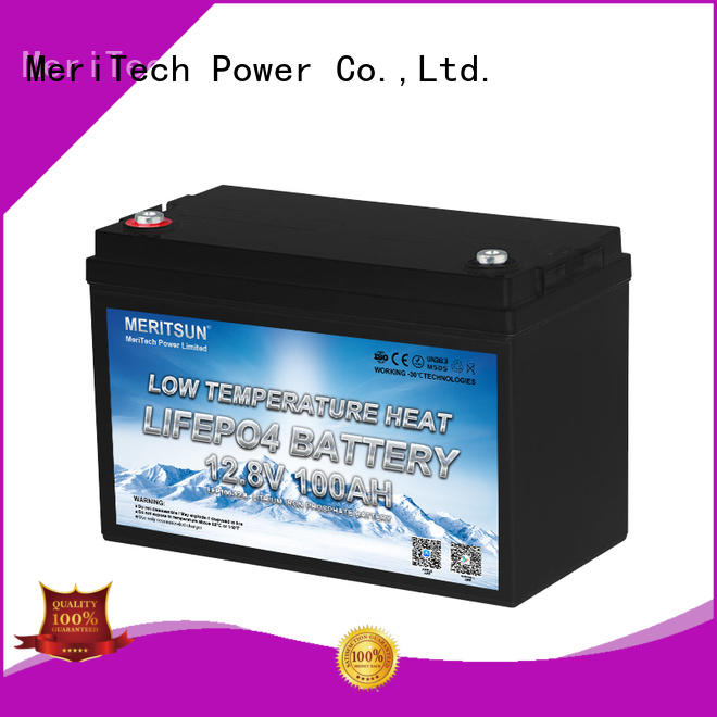 MERITSUN low temperature lithium battery for business for robot