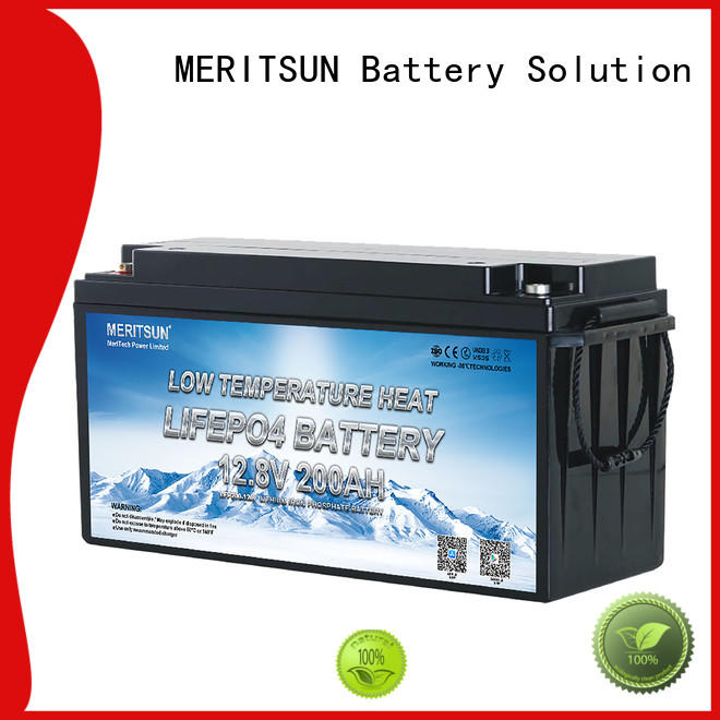 MERITSUN new low temperature lithium ion battery manufacturers for electric motorcycle