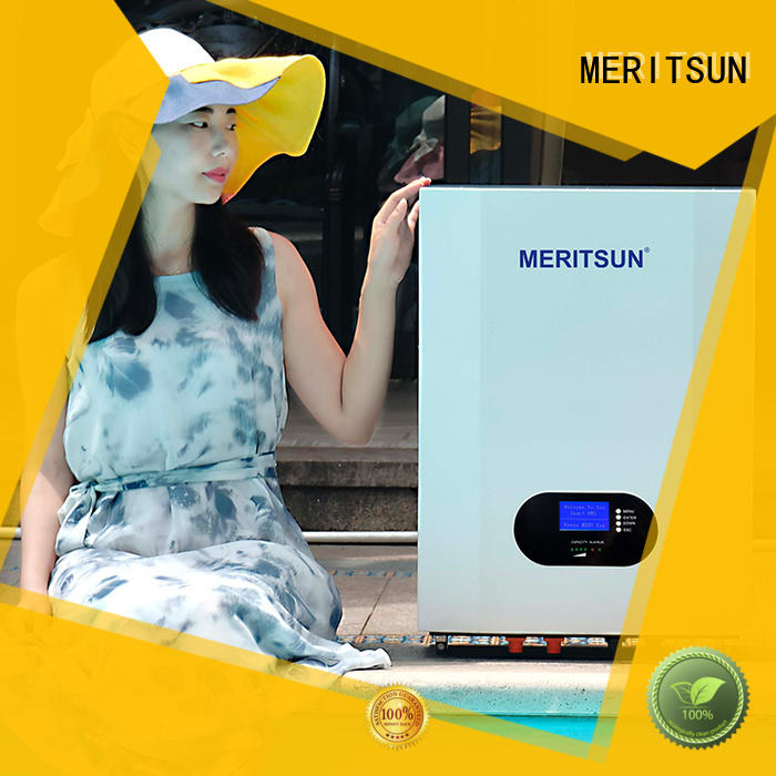 MERITSUN Hybrid inverter powerwall battery supplier Tesla