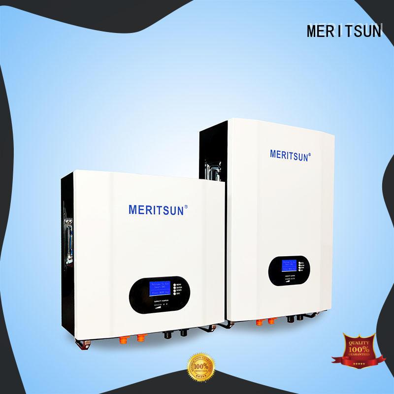 MERITSUN solar power system Powerwall (Hybrid Grid ESS) factory direct supply for buildings