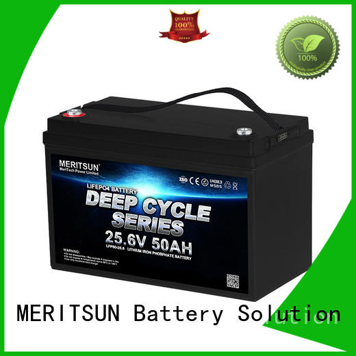 MERITSUN lightweight lithium battery manufacturers series for house