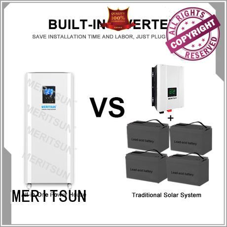MERITSUN durable home battery backup manufacturer for house