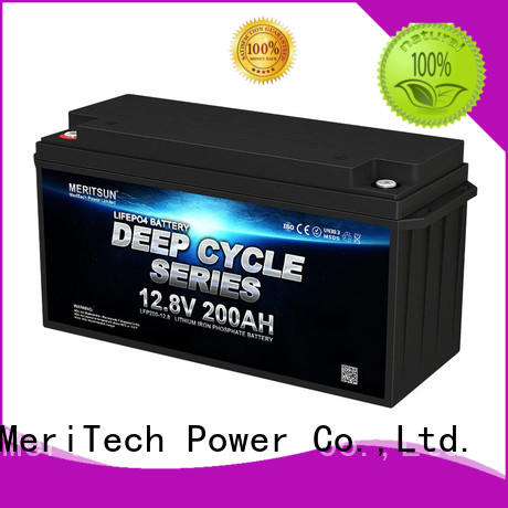 MERITSUN phosphate lithium iron battery wholesale for home use
