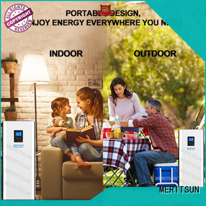 MERITSUN house power battery manufacturer for home appliances