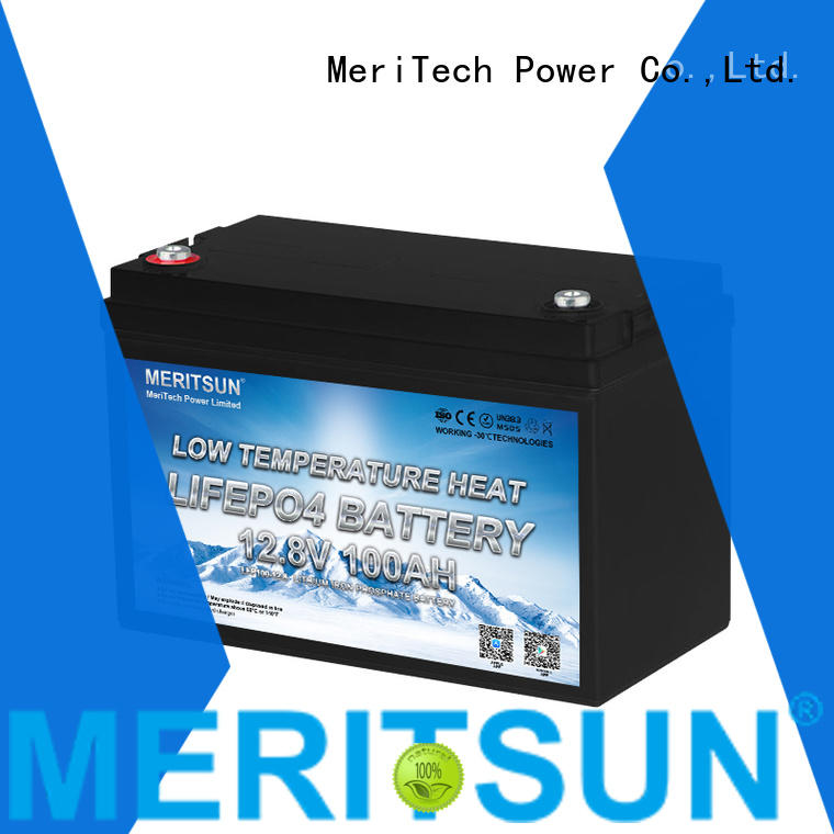 MERITSUN best low temperature lithium ion battery for business for house